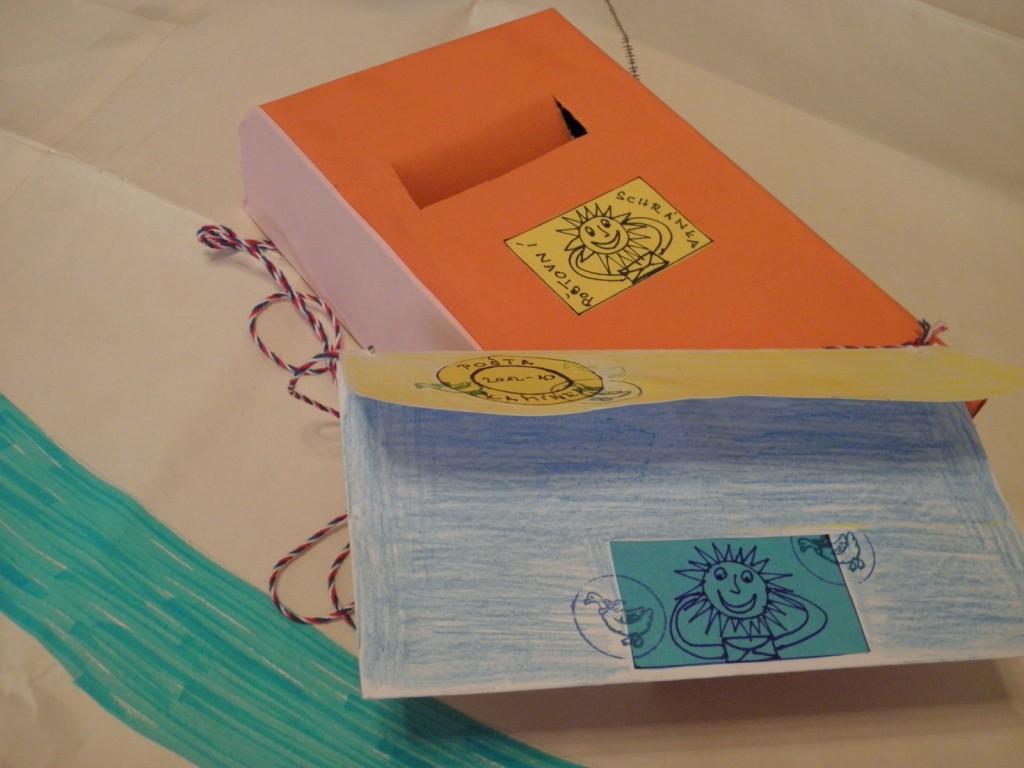 dopis a schránka