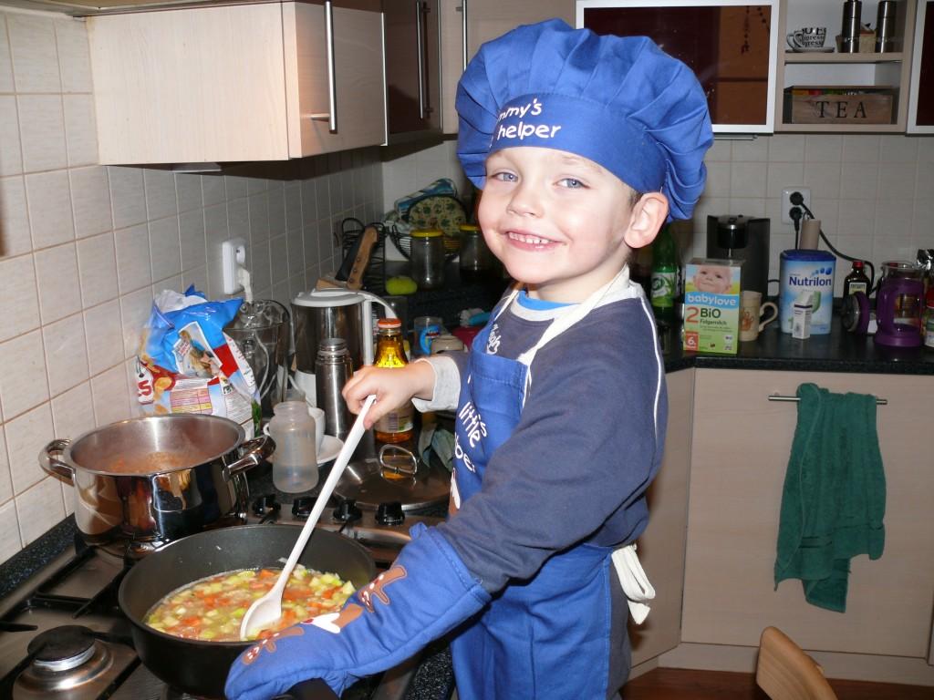 malý kuchař