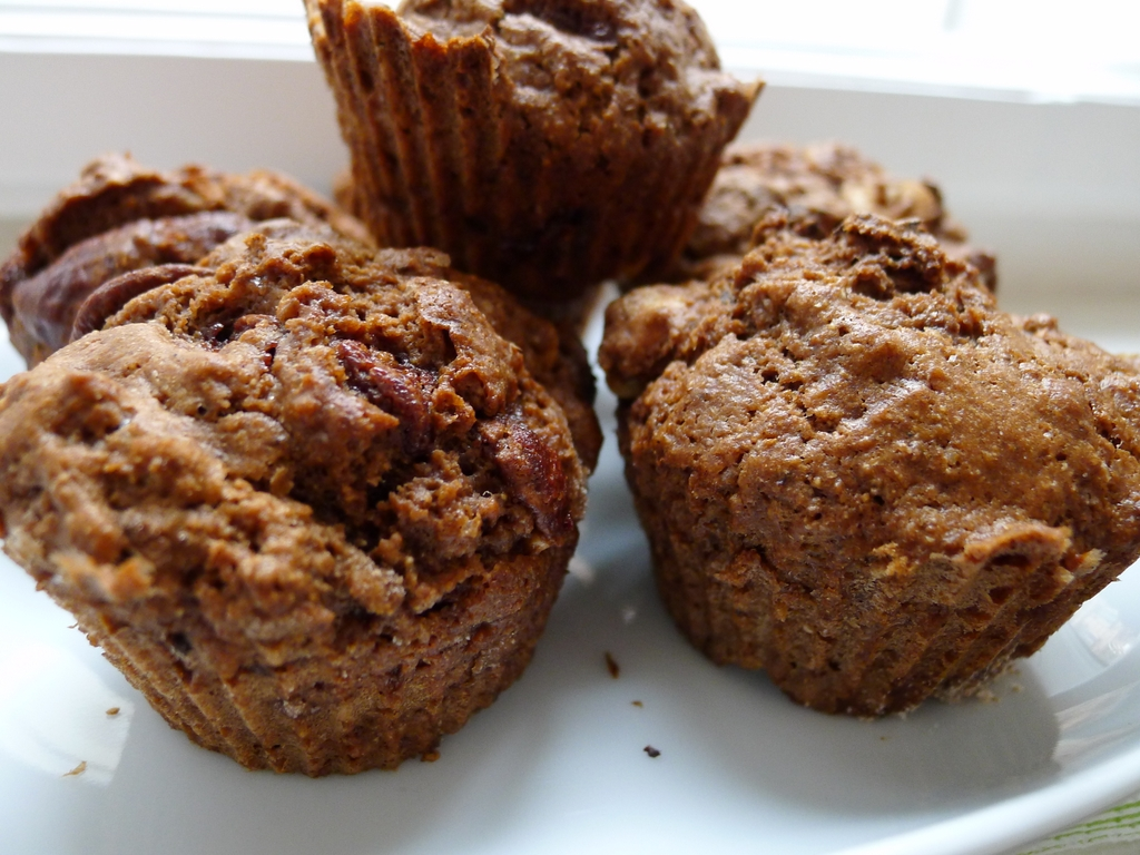 Muffiny s čokoládou a ořechy