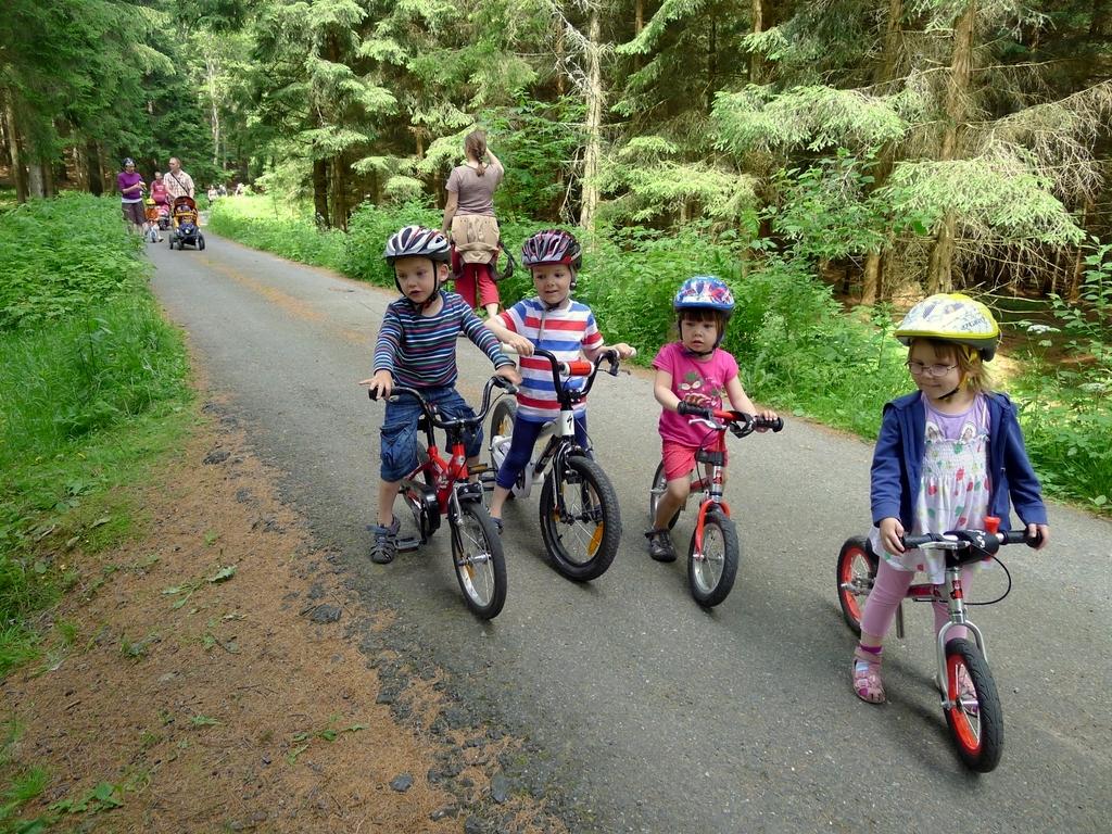 Malí cyklisté
