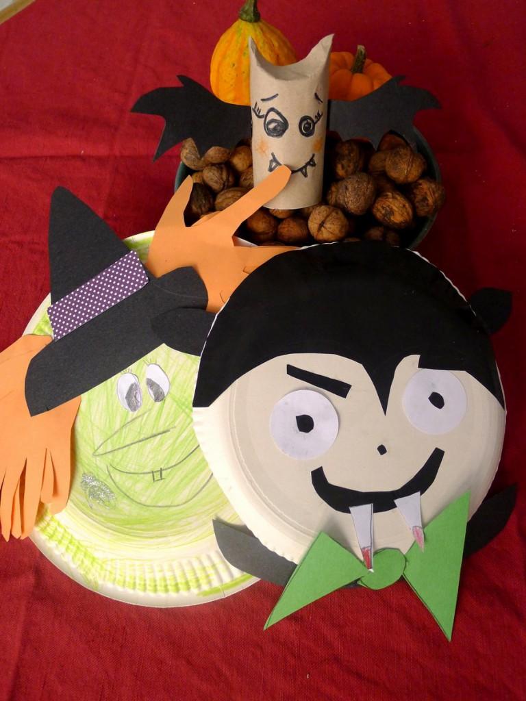 Tvoření s dětmi na Halloween