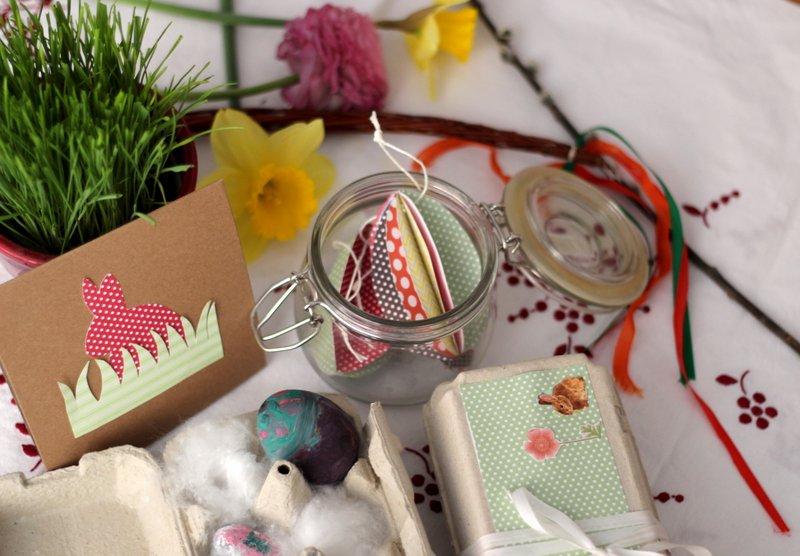 Velikonoční tvoření z papíru