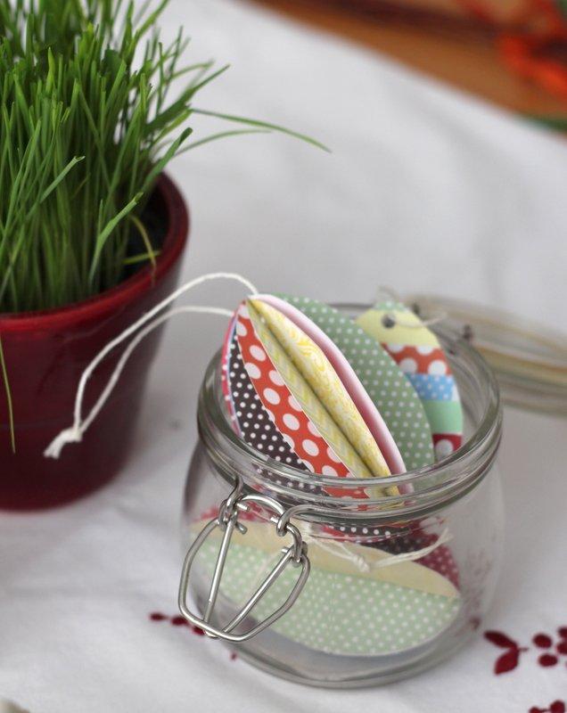 Velikonoční tvoření z papíru - vajíčka