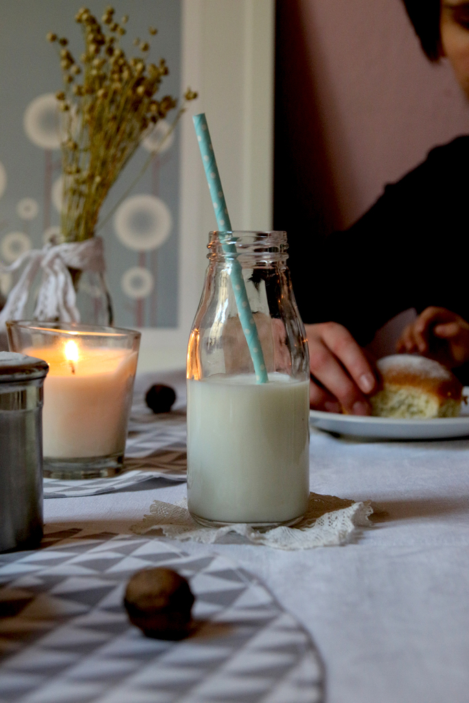 horké mléko